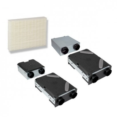 Lot de 2 filtres pour VMC DEE Fly et DEE Fly Modulo SANS BY-PASS (après juin 2009) [- Filtration VMC double flux - ALDES]