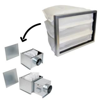 Filtre de rechange pour caisson préfiltre Ø 160 ou batterie de préchauffage [- Filtration Ventilation - Aldes]