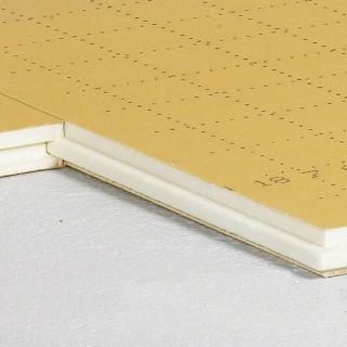 TMS Epaisseur 80 mm (paquet de 5 plaques) [- Mousse isolante Polyurethane pour plancher chauffant - EFYOS SOPREMA]