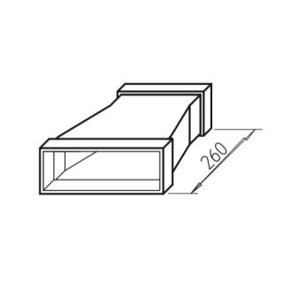 Réduction Asymétrique - FK-RA [- Conduits plats en acier galvanisé - Helios]