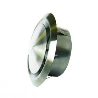 Bouche Design Inox réglable Ø 125 mm pour l'extraction et l'insufflation (MTVI) [- Bouches VMC réglables - Helios]