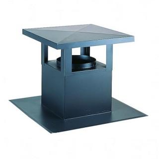 Sortie de toit esthétique pour toiture bac acier, terrasse ou ardoise - Ø 125 à 630 mm [- STE - accessoire VMC - Aldès]