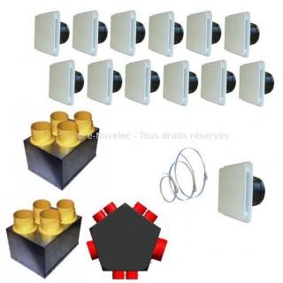 KIT Accessoires P04 [- accessoire VMC double flux - Unelvent]