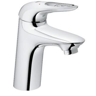 """EUROSTYLE - Mitigeur monocommande 1/2"""" lavabo Corps lisse poignées étrier métal [- Robinetterie salle de bains - GROHE]"""