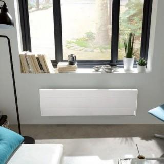 ONIRIS Connecté Blanc - Plinthe - Digital [- Radiateur Inertie Aluminium - Atlantic]