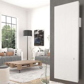 OVATION 3 Vertical - Blanc - Connecté [- Radiateur Inertie Aluminium - Thermor]