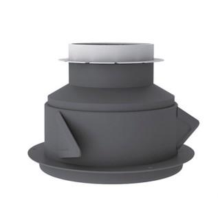 Manchon court à griffes Ø 125/80 mm pour bouches hygro [- M 125/80 P - accessoires bouches hygroréglabes VMC - Atlantic]