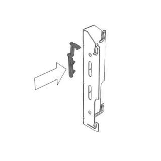 Fixation pour Yali Parada et Yali Ramo - H 600 mm [- Fixation de radiateur - LVI]