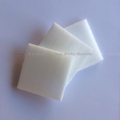 3 filtres pour Bouche d'insufflation Design Ø 100 mm (DLVZ 100) [- Bouches Réseau RenoPipe - Helios]