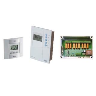PACK DELTA 620 [- Régulateur Radio multizone pour climatisation gainable - 6050408 - Delta Dore]