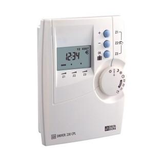 Pack Driver 230 CPL/FP [- Programmateur et récepteurs Courant Porteur 3 zones pour chauffage électrique - 6051147 - Delta Dore]