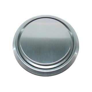 Bouche extraction et insufflation métallique ZSX Inox brossé Ø 125 mm [- Bouches VMC fixes - Zehnder]
