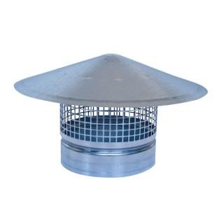 Chapeau pare-pluie Ø 80 à 710 mm [- accessoire VMC - Unelvent]