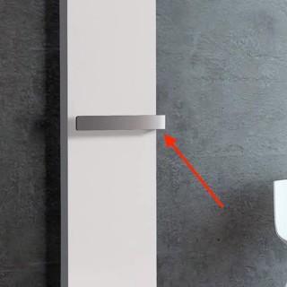 Barre ouverte chromée pour sèche-serviettes TOSCANE [- Accessoire Sèche-serviettes - THERMOR]