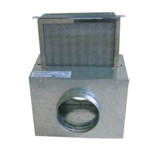 Caisson filtre pour CHEMINAIR 400 et 600 [- Répartiteur d'air chaud pour foyer fermé - Unelvent]