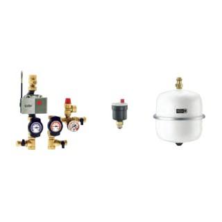 Module hydraulique et régulation - SEWT-H [- Puits canadien à eau glycolée - Helios]