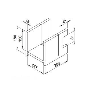 Boîte à onglet (RP-SH) [- Conduits VMC apparents - Réseau RenoPipe - Helios]