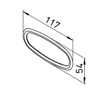 Joints pour raccord plat 51 mm (lot de 10 pièces) [- FRS-DR 51 - Réseau FlexPipe - Helios]