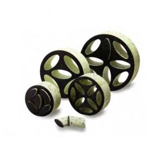 Régulateur de débit et atténuateur de bruit SVE Ø 80, 100, 125, 160, 200, 250 et 315 mm [- Régulateurs VMC - HELIOS]
