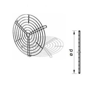 Grille de protection de ventilateur Ø 100 à 315 - SGR [- protection de Ventilateurs - HELIOS]