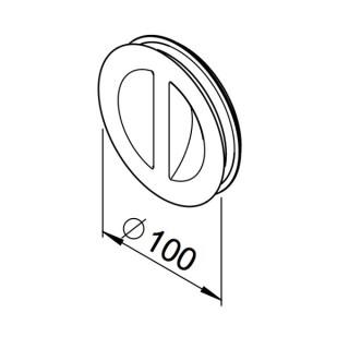Obturateur / bouchon de nettoyage (RP-RD) [- Conduits VMC apparents - Réseau RenoPipe - Helios]