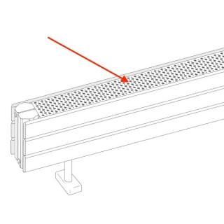 """Plus-value """"Grille chromée"""" pour radiateurs Fassane Pack CVXD, CSXD, PSXD et VSXD [- Option de fabrication - ACOVA]"""