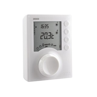 TYBOX 711 [- Thermostat programmable filaire (230 V) - Chauffage eau chaude - Delta Dore]