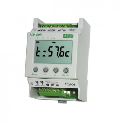 T2S+2C DIGIT [- Thermostat modulaire tout ou rien à 2 sorties et 2 consignes - Delta Dore]