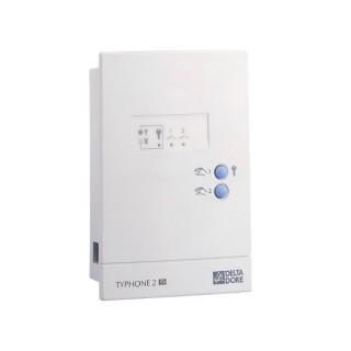 TYPHONE 2 SV [- Télécommande téléphonique 2 sorties pour le pilotage à distance du chauffage et ECS - Delta Dore]