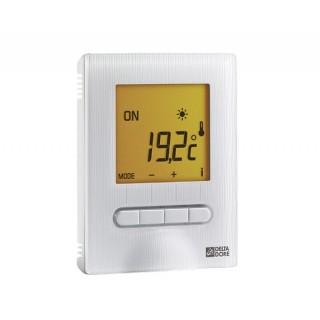 MINOR 12 [- Thermostat digital semi-encastré pour plancher ou plafond rayonnant électrique - Delta Dore]