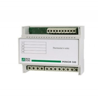 MINOR 500 [- Thermostat électronique 4 zones pour chauffage électrique - Delta Dore]
