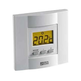 TYBOX 25 [- Thermostat d'ambiance Radio à touches pour chaudière ou PAC non réversible - Emetteur seul - Delta Dore]