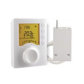 TYBOX 137 [- Thermostat programmable Radio pour chaudière ou PAC non réversible - 2 niveaux de consignes - Delta Dore]