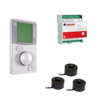 Pack confort Elec IO Home Control - Electrique 230 V [- Programmation centralisée - Atlantic]