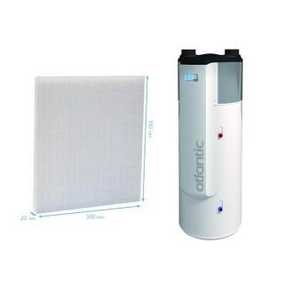 Filtre de rechange pour AERAULIX, AERAULIX 2, AERAULIX 3 et AERAULIX CI [- accessoire chauffe-eau électrique - Atlantic]