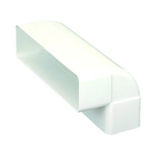 Coude vertical 90° [- conduits PVC de Ventilation - Atlantic]