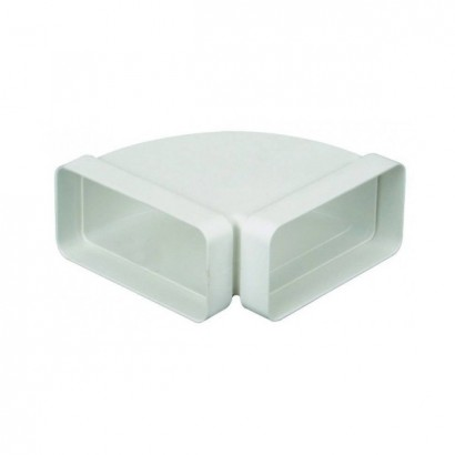 Coude horizontal 90° [- conduits PVC de Ventilation - Atlantic]