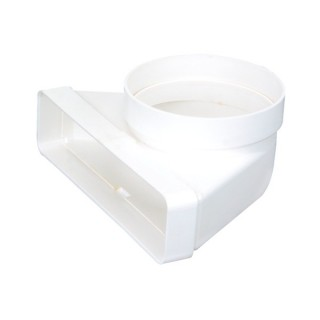 Coude mixte vertical [- conduits PVC de Ventilation - Atlantic]