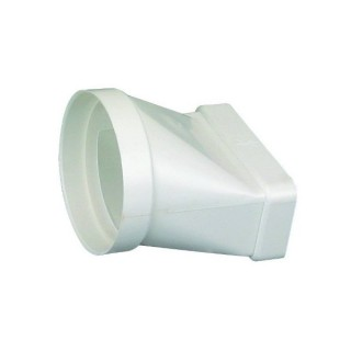 Raccord mixte droit [- conduits PVC de Ventilation - Atlantic]