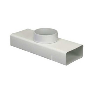 Té 90° vertical [- conduits PVC de Ventilation - Atlantic]