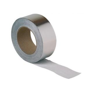 Ruban aluminium adhésif 75 mm - Longueur 50 mètres - Extra large [- BA 75 E - accessoire VMC - Atlantic]