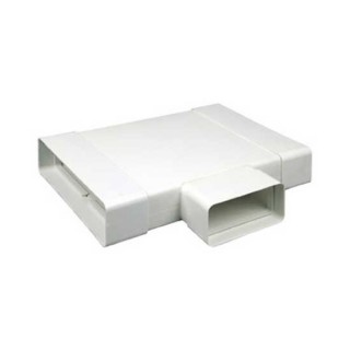 Té 90 horizontal rectangulaire [- conduits PVC de Ventilation - Atlantic]