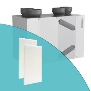 Filtres pour VMC Duocosy HR et HR HY (jeu de 2 filtres M5) [- accessoire VMC double flux - Atlantic]