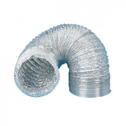 Gaine souple aluminium GSA -30°C à +250°C - 3 mètres - Ø 80, 100, 125, 150, 160, 200, 250 et 315 mm [- Conduits VMC - Unelvent]