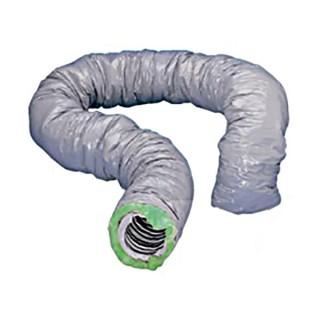 Gaine souple isolée renforcée - Intérieur PVC renforcé - Ø 80, 125, 150 et 160 mm - 6 mètres [- conduits VMC - Unelvent]