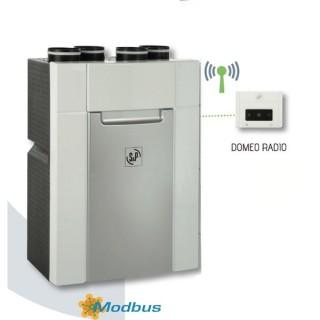 DOMEO 210 RD (Autoréglable Radio) [- VMC Double flux Très Haut Rendement - Unelvent]