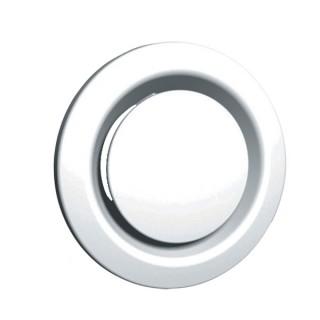 Bouche extraction / insufflation métallique - BEM - Ø 80, 100, 125, 160 et 200 mm [- bouches VMC à débit réglable - Unelvent]