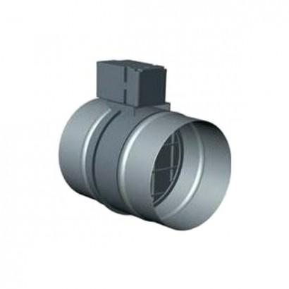 Registre motorisé RGE-O - Ouvert sous tension - Ø 100, 125, 150, 160 et 200 mm [- Registre ventilation - Unelvent]