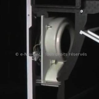 Motoventilateur pour VMC INITIA et IDEO FILAIRE uniquement [- pièce détachée moteur VMC - Unelvent - Ni repris ni échangé]