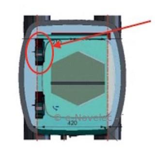 Motoventilateur (moteur + ventilateur) pour VMC AKOR HR [- pièce détachée VMC double flux - Unelvent - Ni repris ni échangé]